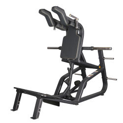 고급 상업 피트니스 장비가 다리 근육을 강화합니다. Hack Squat Machine 체육관용 플레이트 있음(라이프 피트니스 - 8848)