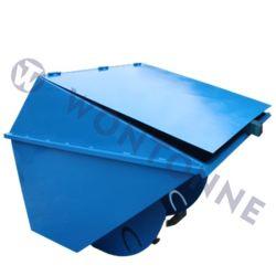 강철 폐기물 저장소