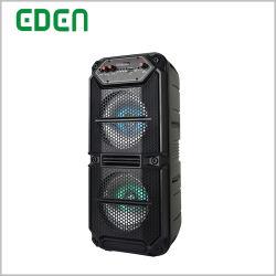 Recargable Inalámbrico Bluetooth portátil al aire libre con una gama completa de radio FM Caja de altavoz PA ED-615