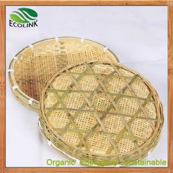 Handmade PLATEAU EN BAMBOU Bambou paniers en osier pour les fruits légumes fleurs