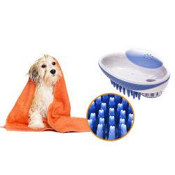 샤워 공구 안마 애완 동물 솔을 입욕해 1마리의 샴푸 분배 개에 대하여 2
