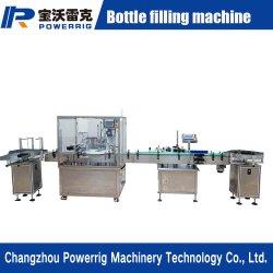 Produto de venda quente de enchimento automático Cdb pequena garrafa de óleo de enchimento rotativo e máquina de nivelamento