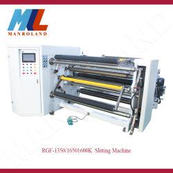 Rgf-1350/1650K papier synthétique et d'autres bobines de refendage de matériel et de rembobinage.