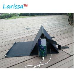 Sacchetto piegante del caricatore 40W del mono di comitato solare animale domestico solare portatile delle cellule con il USB 5V, uscite di DC12V