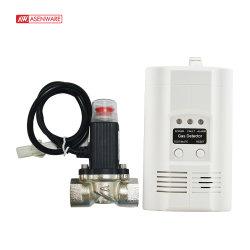 De forma independiente de salida de relé de Alarma de Incendio Detector de Gas de Gas Natural