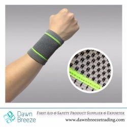Fascia di manopola elastica della parentesi graffa di sostegno del manicotto della protezione di sport