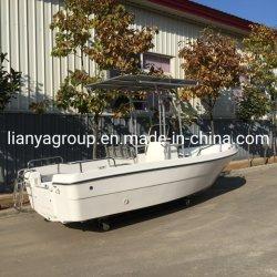 Liya barco de pesca los cascos de barcos de fibra de vidrio