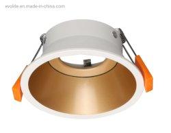 조절 가능한 GU10 Square 광택 크롬 천장 매입형 스포트라이트 LED 조명