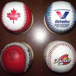 Base-ball, revêtement en PVC, Pour la promotion (B06127)