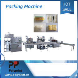 Automatische Serviette Geschirr Verpackung und Versiegelung Maschine