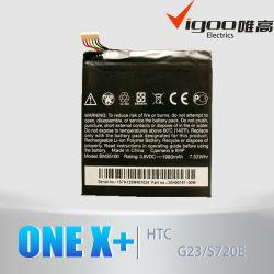 Tupiancuo ursprüngliche Batterie für HTC eins X + Batterie Bm35100 3.8V 2100mAh