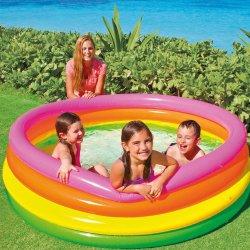 Four-Ply coloridos de Remada PVC inflável Piscina para crianças