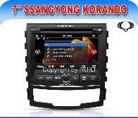 Système de navigation DVD audio de voiture pour Ssangyong Korando