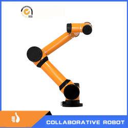 Arbeiten laden der Cobot Roboter für Cowork im Sammeln und im Platzieren zusammen und, die Montage und verpacken, Inspektion, Maschinen-Neigen
