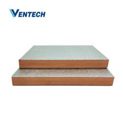 Vor-Isolier-PU-\ /Phenolic \ /PIR Luftkanal-Panel für HVAC-System