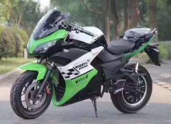 Horizon 2000W à deux roues à longue portée hors route de marche avant rapide des prix Moto électrique pour les adultes (MZ-113)