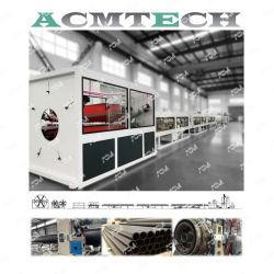 Высокая эффективность HDPE PP Po трубопровода экструзии машины для диаметра 12-1200мм