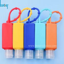 Beweglicher Nahrungsmittelgrad-SilikonCell-Phone/Duftstoff/Hand-Desinfizierer/Handwaschflaschen-Kasten/Halter für Bad/Rucksack/Karosserien/Airpods/Telefon