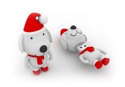 Cadeau de Noël Snoopy et le Snowman pilote USB