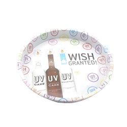 保有物のための円形の長方形の金属の錫の皿はガラスをすくう