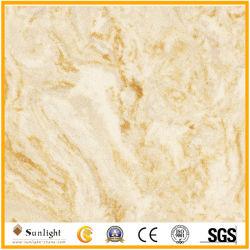 Желтый/крем/белый/черный искусственного мрамора, Artifical камня