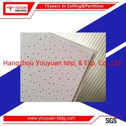 Plafondtegel Minerale vezel Plafondbord akoestische vezel wol board