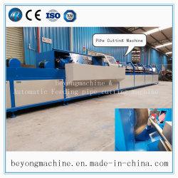 Tubo de alta velocidad de la alimentación y la línea de corte circular, de la Sierra Fría Máquina de cortar el tubo de metal, totalmente automático CNC Máquina de corte Tubo