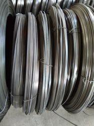 Fabricant de l'usine, en acier inoxydable à bas carbone, un fil plat haut carbone pour la vente