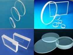 La fabbrica comercia lo zaffiro all'ingrosso ottico Windows di vetro, vetro d'immersione dello zaffiro della vigilanza