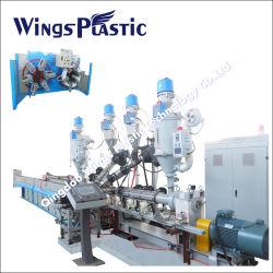 Deckungs-Schweißen Pex-Al-Pex Plastikrohr Maschinen-/Pex-Al Rohr-Strangpresßling-Zeile