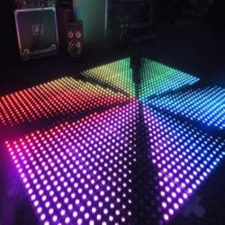 Hot Sale Disco utilisé LED en verre trempé plancher de danse de vidéo