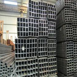Le carbone de fer noir prix d'usine Tuyaux et tubes en acier carré