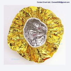 Salão descartáveis à prova de Alumínio Chuveiro Pac Pac Cabelo Óleo de cozedura Ultra-Thin alimentando / Seco Hat