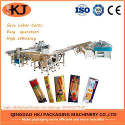 束ねる自動スパゲッティ重量を量る8台の計重機(製造業者)が付いている包装機械の