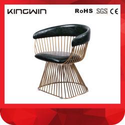 Elegancia Cátedra de ocio con el brazo/Salón de la sembradora de estructura metálica de acero inoxidable Tumbona