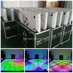 DJ 당 결혼식을%s 훈장이 RGB 댄스 플로워에 의하여 LED 점화한다