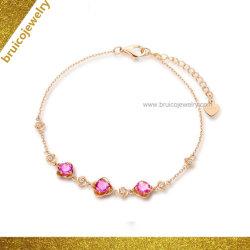 Bijoux personnalisés Fashion Rose Bracelet plaqué or pour les filles Hot Sale Bijoux Bracelet Bracelet en argent 925 Sterling