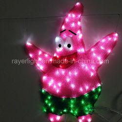 カスタマイズされた 2D LED の漫画の彫刻の照明クリスマスの図の祝祭の装飾