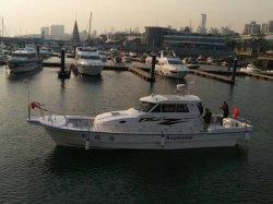 Barco Barco de pesca barco de fibra de vidrio SUV45