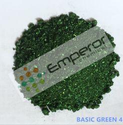 Colorante básico 4 (Malchite Verde Verde) con brillo metálico