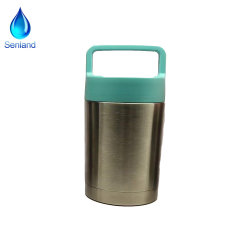 17oz/500ml Almoço de isolados de aço inoxidável, jarra de alimentar o almoço garrafa térmica (SL-480)