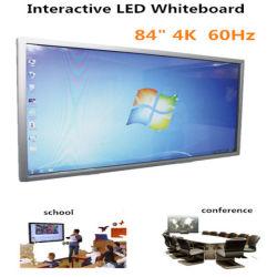 84インチ4k教育のための対話型LEDのタッチ画面のパネル