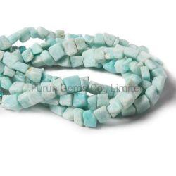 مصنع [وهولسل] حجر كريم [سمي-برسووس] [متّ] [أمزونيت] ينظم يصقل شذرة مربّعة [4مّ] [6مّ] [8مّ] [10مّ] [12مّ] سائب طاق نمو مجوهرات