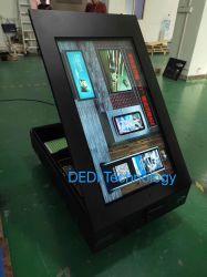 Dedi resistente al agua y polvo, de 55 pulgadas de alto brillo al aire libre de montaje en pared Digital Signage Publicidad Reproductor de vídeo de pantalla de LCD