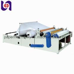 Coupe et de rembobinage de la machine à papier hygiénique de processus pour la fabrication du papier Rouleau Jumbo