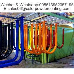 Электростатический разряд спрей Ral цвета чистого полиэфирной порошковой краской покрытия