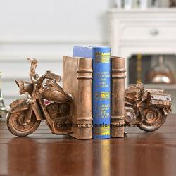 رسمة من الراتنج حرفة مكتب دعم كتاب شيب الدراجات النارية هدية و الديكور