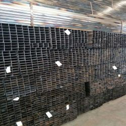 Premier fournisseur de corps creux Rectangulaire Carrée Tube en acier/tailles de tubes de prix pour les marchés de l'Afrique