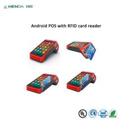 Sistema de alta calidad POS Android POS Terminal con Bluetooth/GPRS/WiFi
