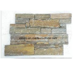 壁のための安く自然で具体的なスレート文化石